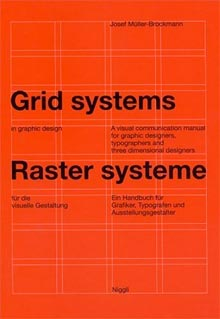 « Grid Systems in Graphic Design » de Josef Müller-Brockmann